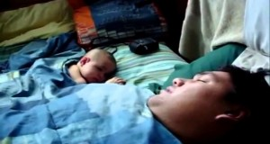 Cute-Baby-Scared-by-Snoring