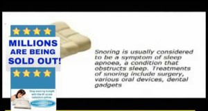 Snoring-Remedy-Snoreless-Pillow-Enhance-Your-Sleep-Tonight-With-The-1-Snore-Reduction-Pillow