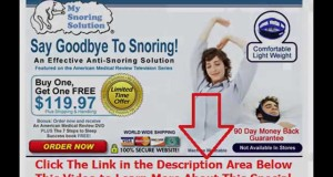 snoring from my throat | Say Goodbye To Snoring
