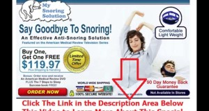ways to prevent snoring | Say Goodbye To Snoring